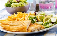 fish chips restaurant takeaway - 1