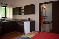 Studio with kitchen.