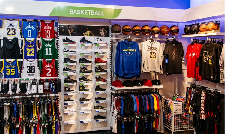 large modern sports store - 4