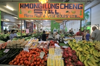 fresh produce market stall - 1