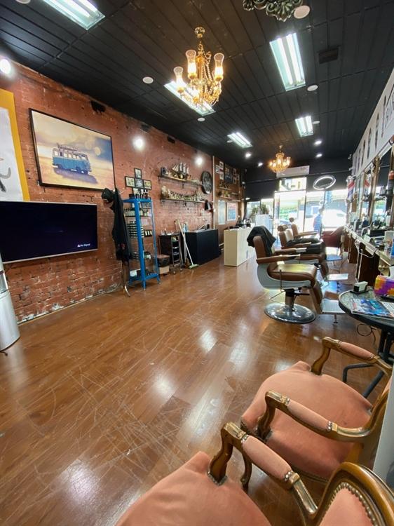 barber shop with cafe - 4
