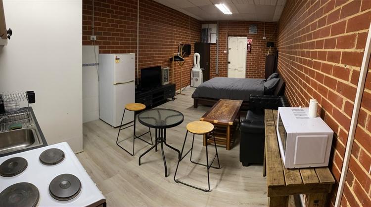 barber shop with cafe - 9