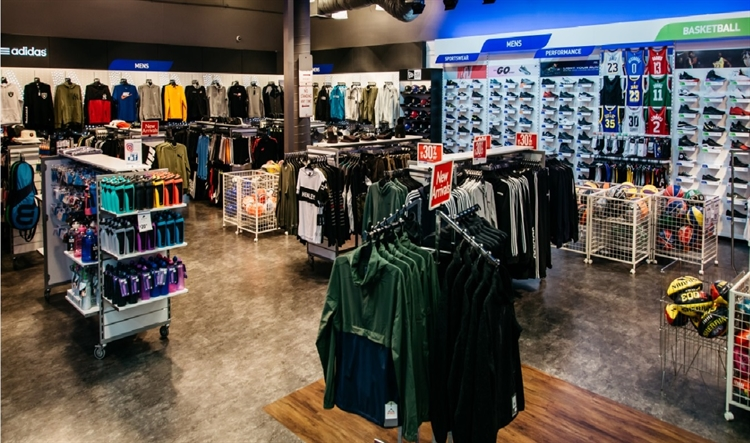 large modern sports store - 9