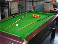 120+ sited pool tables - 1