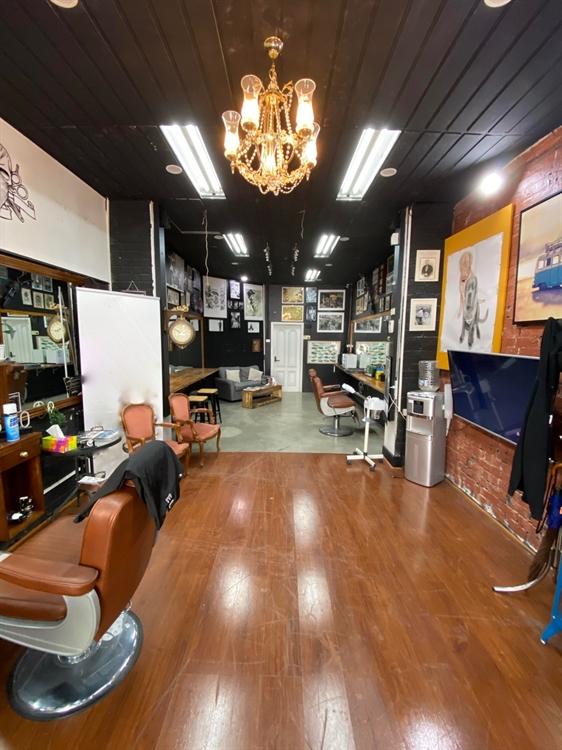 barber shop with cafe - 5