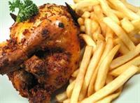 chicken bar busy shopping - 3