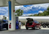 busy petrol station grocery - 3