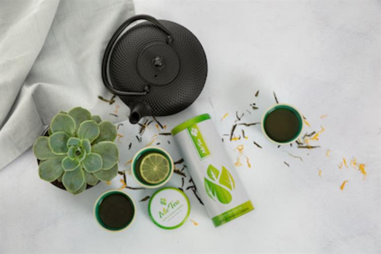 online tea business with - 9