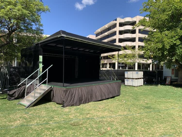 event stage hire business - 9