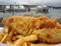 fish chips busy location - 1