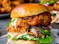 chicken burger shop high - 1