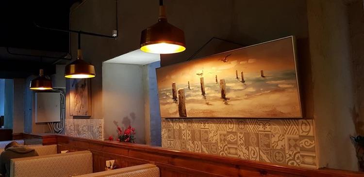 newly renovated modern restaurant - 4