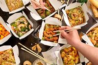 chinese takeaway noodle bar - 1