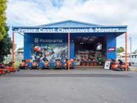 busy mower chainsaw dealership - 1