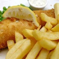 straight fish chips busy - 3