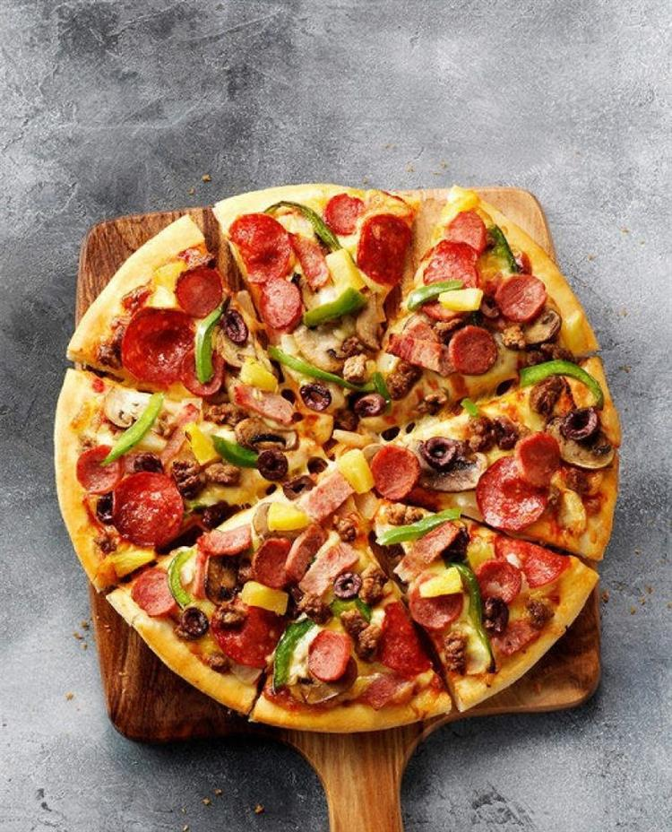 pizza pasta + fish - 4