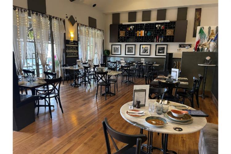 licensed italian restaurant on - 4