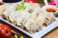 busy dumpling restaurant near - 1