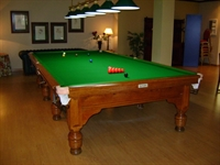 Full size snooker sited