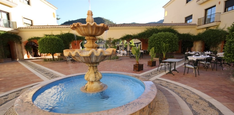andalusian style spa hotel - 9