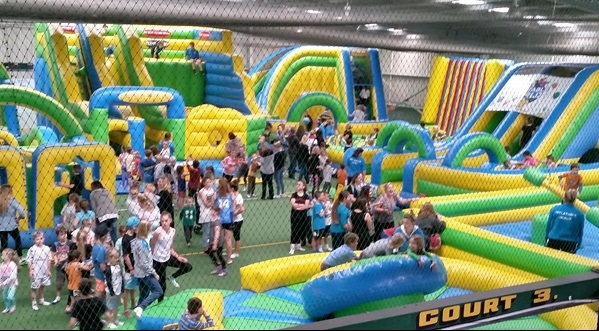 4 court indoor sports - 4