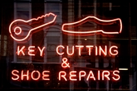 shoe repair + key - 1