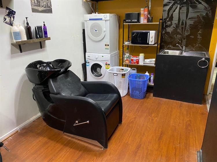 barber shop with cafe - 6