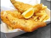 straight fish chips great